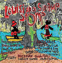 Louisiana Swamp Stomp CD Cover.